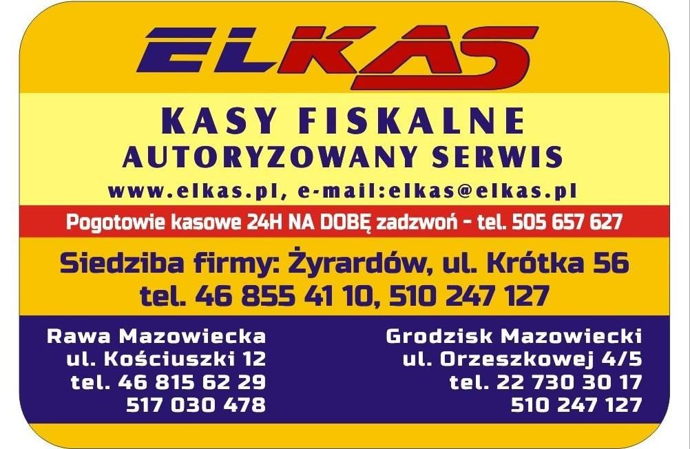 Elkas - kasy fiskalne