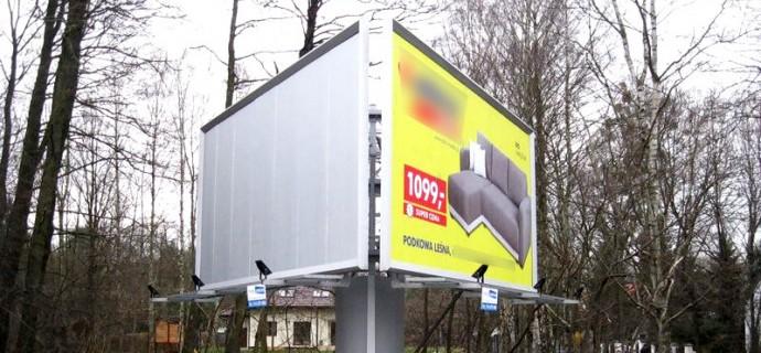 Co dalej w z reklamami przy 719? - Grodzisk News