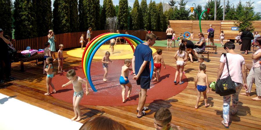 Wodny plac zabaw już otwarty - Grodzisk News