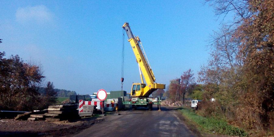 Dziś odbiory mostu w Chlebni - Grodzisk News