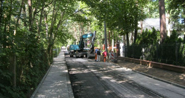Dalszy ciąg remontu na Modrzwiowej - Grodzisk News