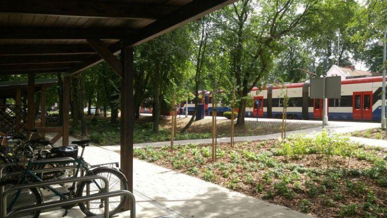 Teren wokół stacji WKD zagospodarowany na nowo [FOTO] - Grodzisk News