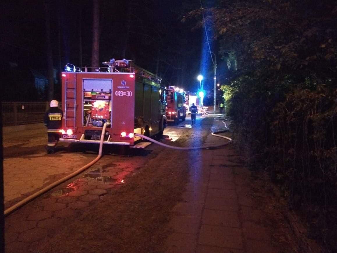 Policja zatrzymała mężczyznę mogącego mieć związek z podpaleniami w Milanówku - Grodzisk News
