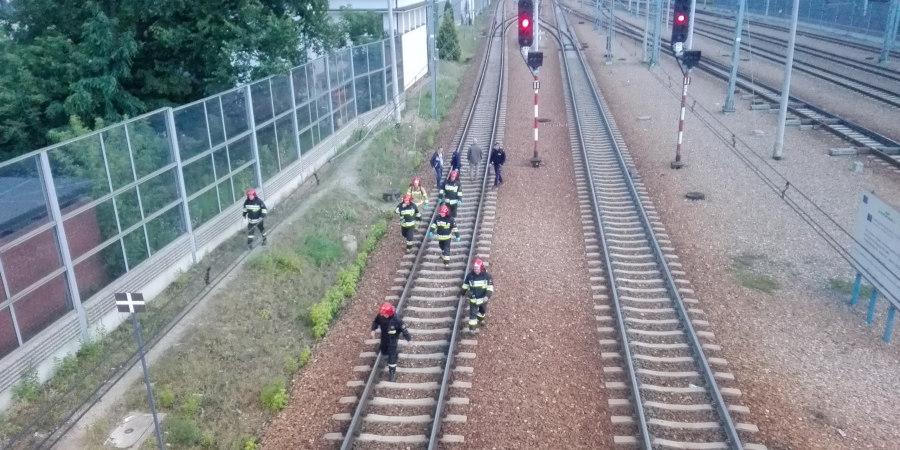 Mężczyzna rzucił się pod pociąg - Grodzisk News