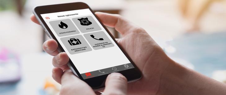 Nowa aplikacja alarmowa dla każdego - Grodzisk News