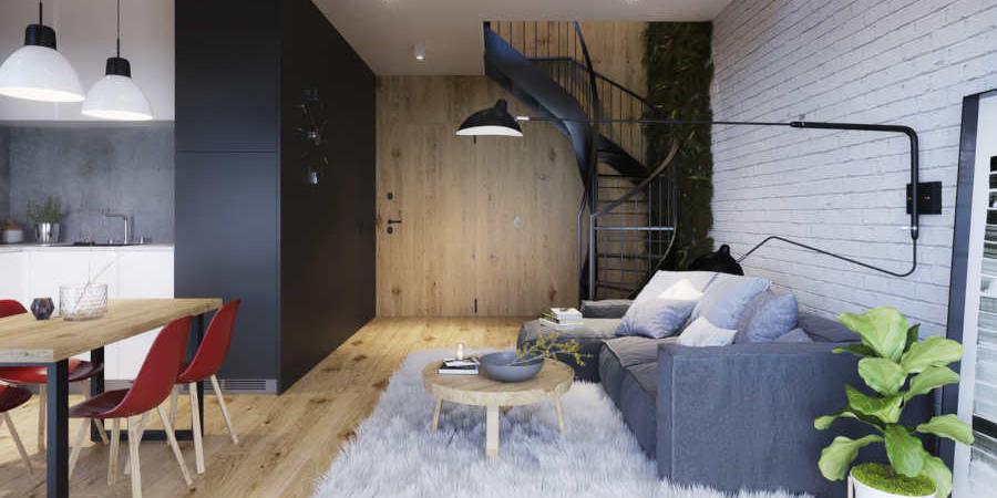 WYŻSZY POZIOM NIERUCHOMOŚCI - mieszkania z antresolą to nie tylko moda - Grodzisk News