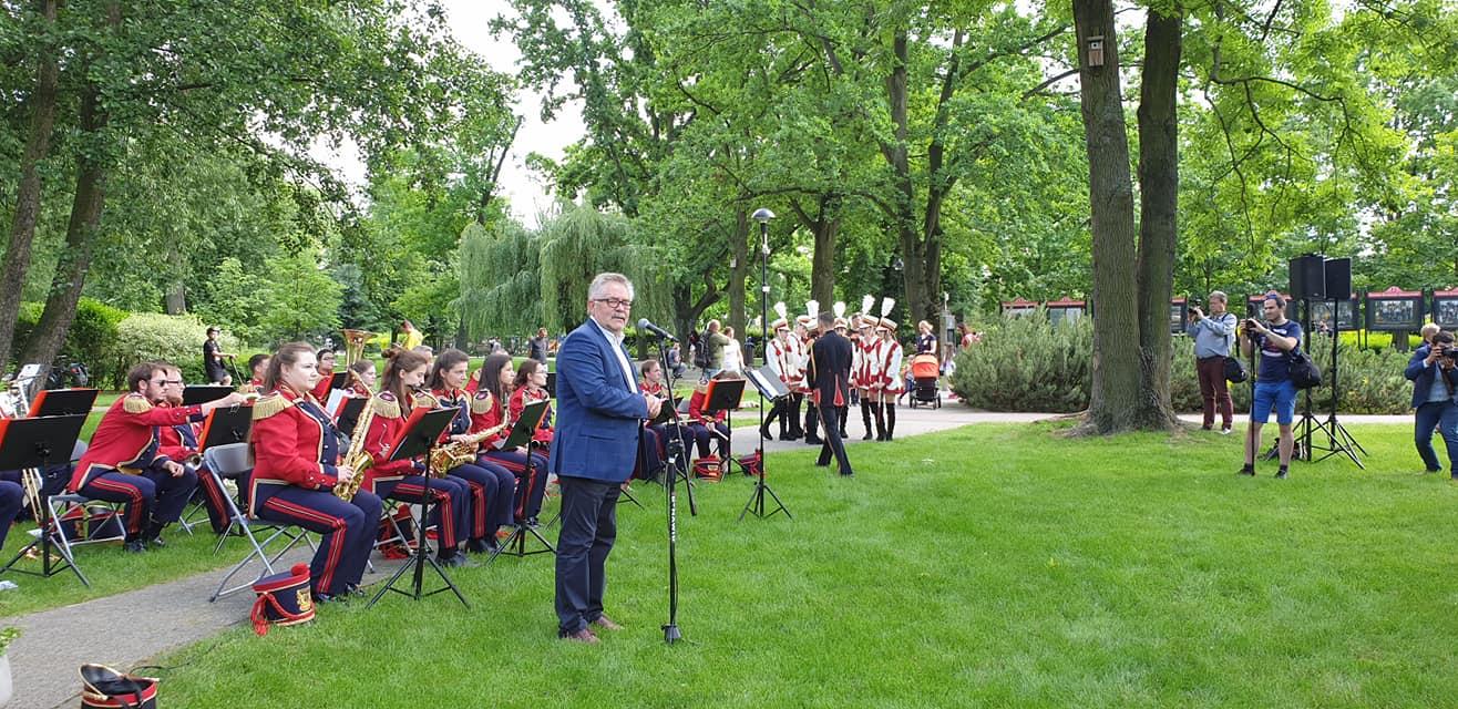 Grodzisk uczcił 175-lecie Kolei Warszawsko-Wiedeńskiej [FOTO] - Grodzisk News