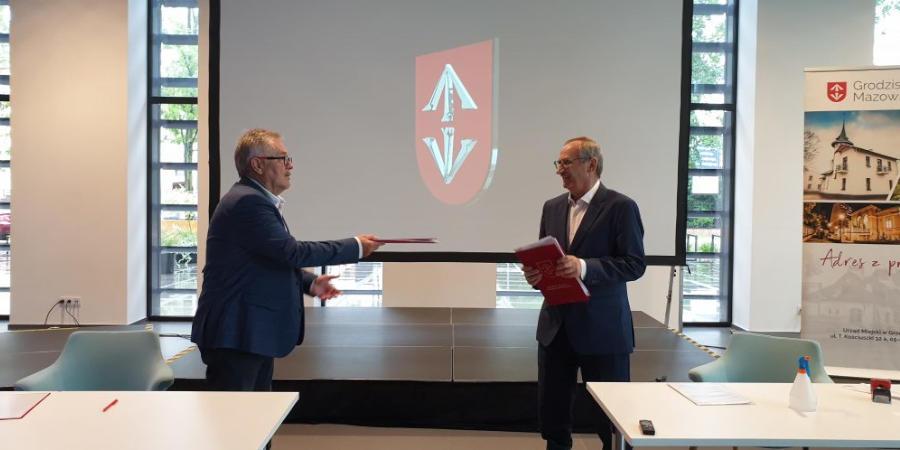 Umowy na modernizację trzech ulic podpisane - Grodzisk News