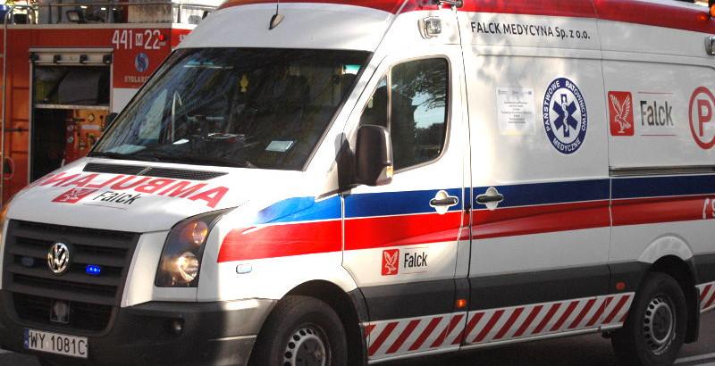 Wypadek w Natolinie. Motocyklista w szpitalu - Grodzisk News