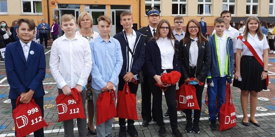 Nagroda dla grodziskich uczniów od komendanta głównego Państwowej Straży Pożarnej - Grodzisk News