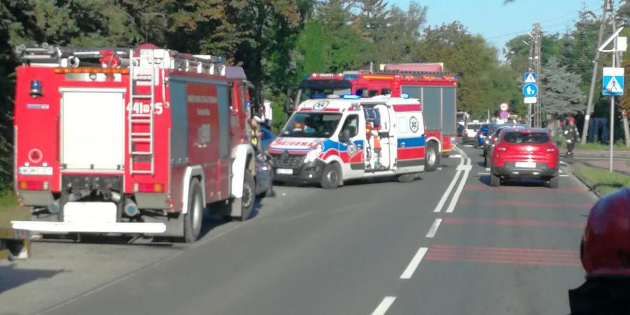 Wypadek w Opypach. Jedna osoba w szpitalu - Grodzisk News