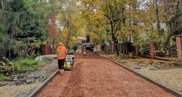 Ulica Mickiewicza nabiera kształtu - Grodzisk News