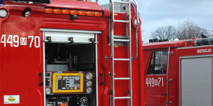 Pożar samochodu w Golach - Grodzisk News