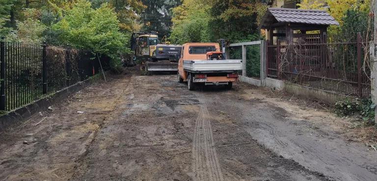 Ruszyła przebudowa ul. Wróblej - Grodzisk News