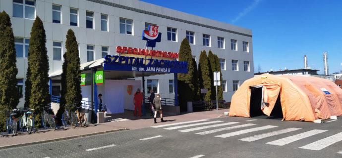 Trudna walka Szpitala Zachodniego z koronawirusem. Pomoże wojsko - Grodzisk News