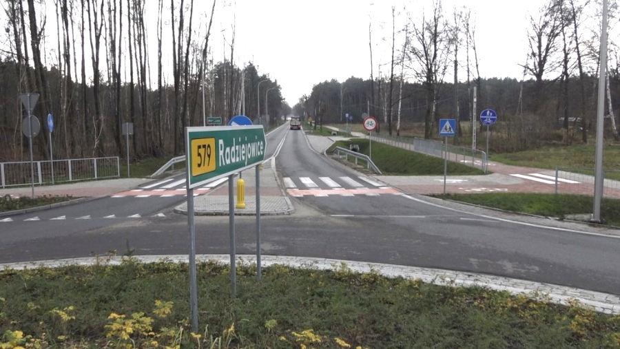 Droga 579 do Radziejowic oficjalnie otwarta - Grodzisk News