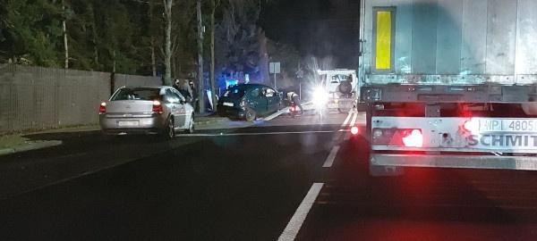 Groźne zderzenie w Opypach [FOTO] - Grodzisk News