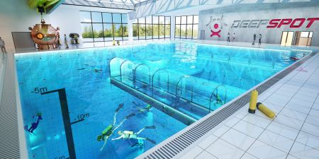 Najgłębszy basen na świecie już działa pod Mszczonowem - Grodzisk News