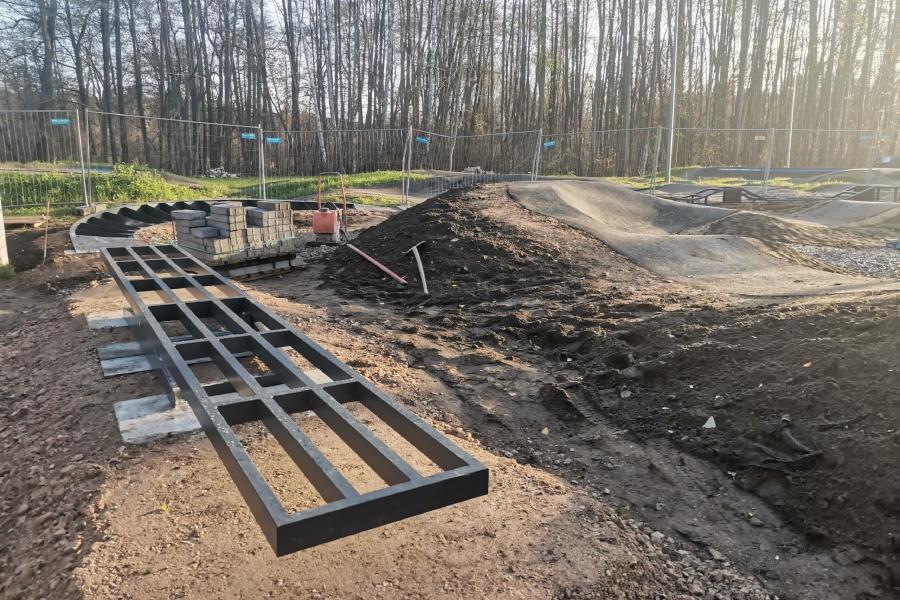 Podkowiańska strefa pumptracka powiększa się - Grodzisk News
