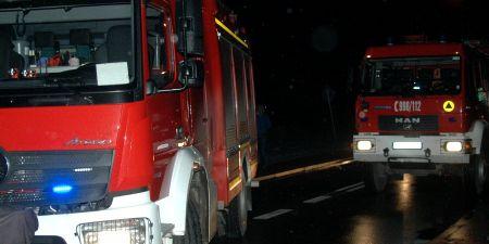 Wieczorny pożar na Chrzanowskiej - Grodzisk News