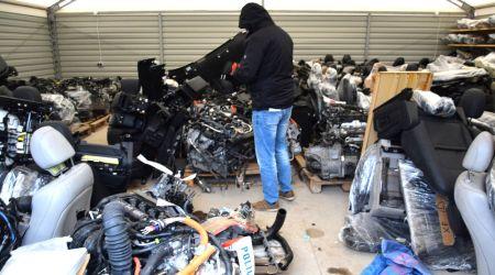 Miał części od 30 kradzionych samochodów - Grodzisk News