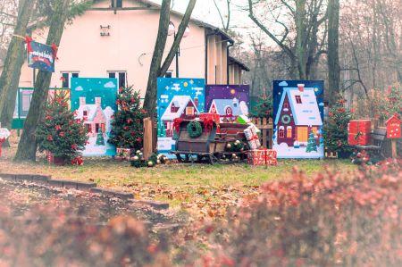 """Świąteczne miasteczko """"wyrosło"""" w Milanówku. Zobacz zdjęcia - Grodzisk News"""