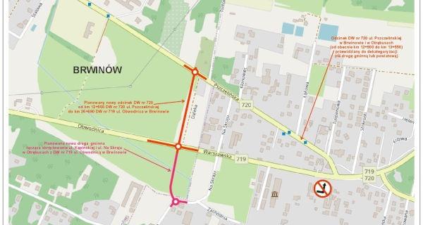 Ambitny plan na łącznik dróg 719 i 720 - Grodzisk News