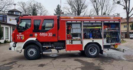 Nowy wóz dla OSP już w Milanówku - Grodzisk News