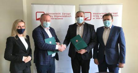 Odcinek drogi wojewódzkiej w Żabiej Woli idzie do remontu - Grodzisk News