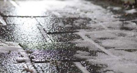 Ślisko na drogach powiatu grodziskiego. Oblodzenia i marznący deszcz - Grodzisk News