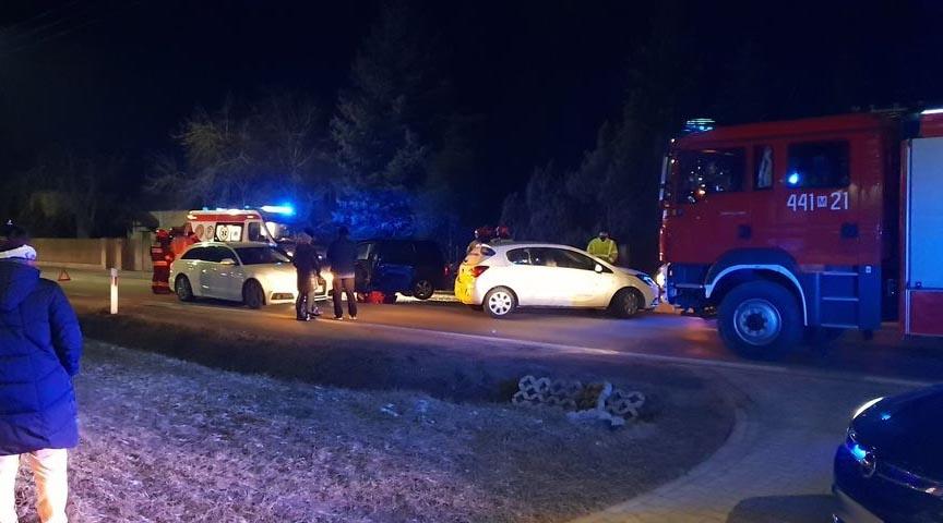 Wypadek w Grodzisku. Jedna osoba w szpitalu - Grodzisk News