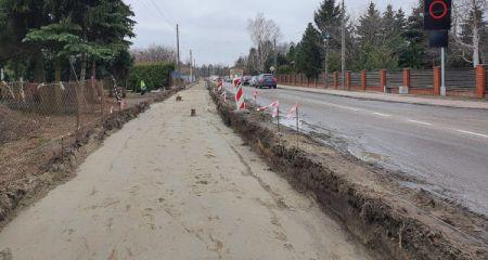 Kolejna ścieżka rowerowa w budowie - Grodzisk News