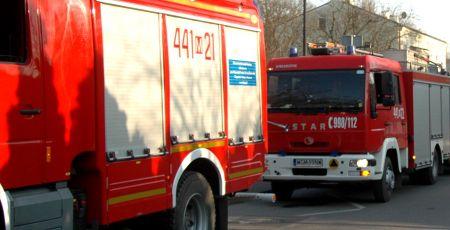Koparka uszkodziła rurę z gazem. Trzy zastępy straży na miejscu - Grodzisk News
