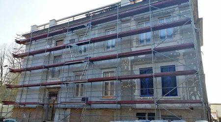 Trwa remont zabytkowego pałacu - Grodzisk News