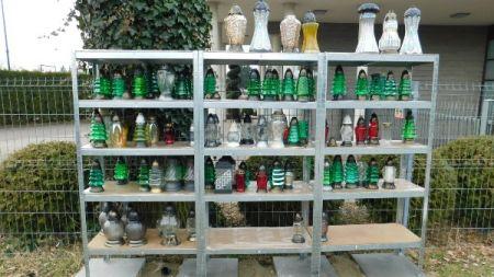 Wkrótce weźmiesz znicz z półki na grodziskim cmentarzu - Grodzisk News
