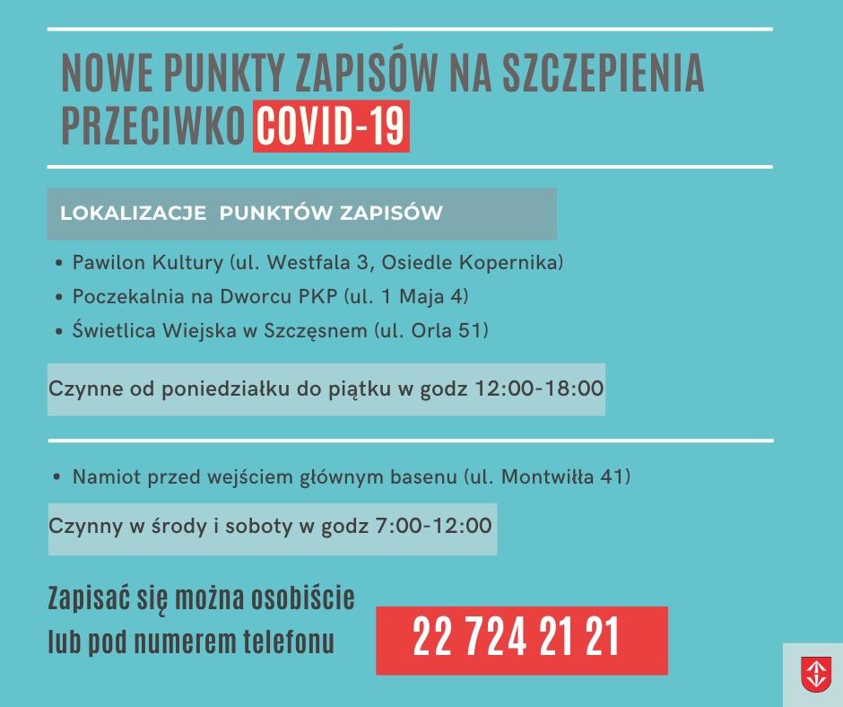 Nowe punkty zapisów na szczepienia w gminie - Grodzisk News