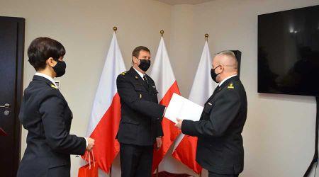 Nowy komendant grodziskiej straży pożarnej - Grodzisk News