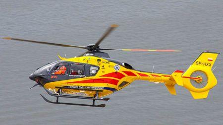 Potrącenie rowerzysty w Grodzisku. Lądował śmigłowiec LPR - Grodzisk News