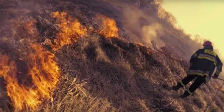 Pożar w Kaskach - Grodzisk News
