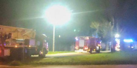 Wieczorny pożar w Radoniach, trzy zastępy w akcji [FOTO] - Grodzisk News