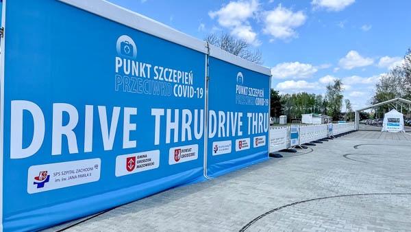 Grodziski punkt drive-thru czeka na szczepionki - Grodzisk News