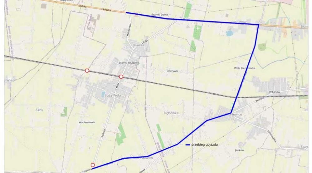 Jutro zamykają drogę powiatową - Grodzisk News