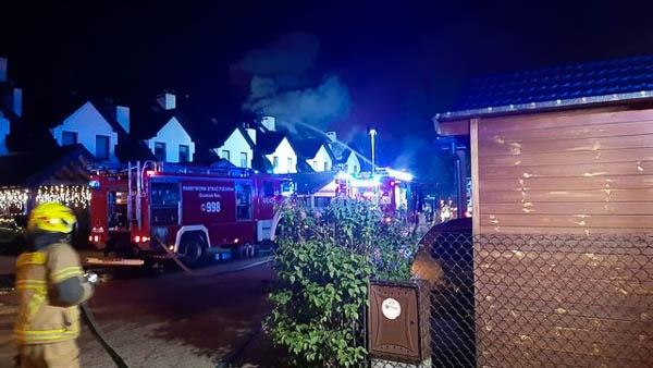Nocny pożar segmentu w Grodzisku [FOTO] - Grodzisk News