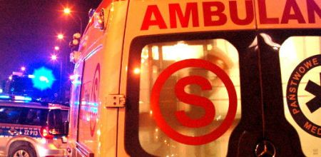 Nocny wypadek na A2. Dwie osoby w szpitalu - Grodzisk News