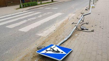 Pijany kierowca sprawcą kolizji w Podkowie - Grodzisk News