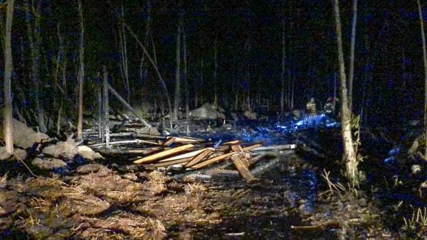 Pożar stadniny w Budach Michałowskich. Konie nie przeżyły [FOTO] - Grodzisk News