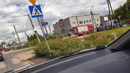 Zderzenie dwóch osobówek w Grodzisku - Grodzisk News