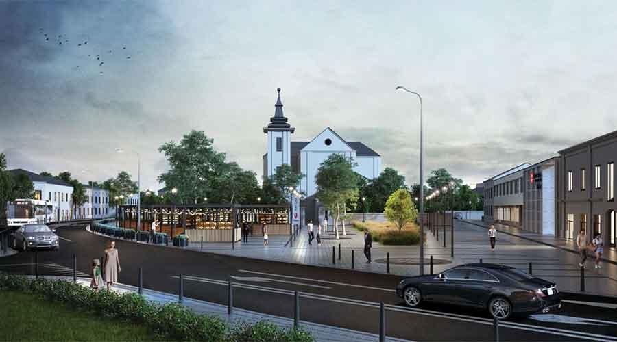 Plac Zygmunta Starego przejdzie modernizację. Zobacz jak będzie wyglądał - Grodzisk News