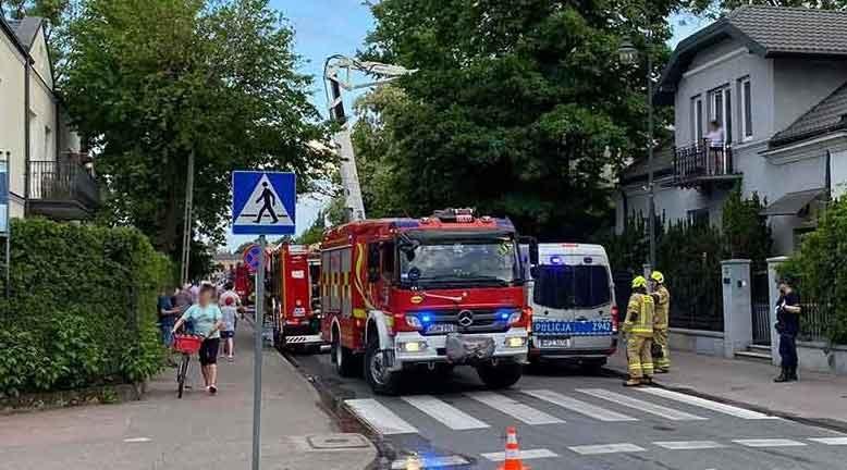 Pożar na Kościuszki: Policja prowadzi czynności wyjaśniające - Grodzisk News