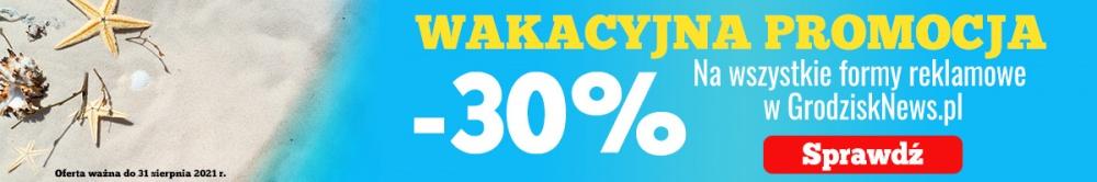 -30% na reklamy w Grodzisk News! - Grodzisk News